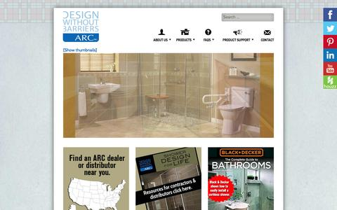 Screenshot of Home Page arcfirst.net - ARC, Inc. Home Page - captured Feb. 5, 2016