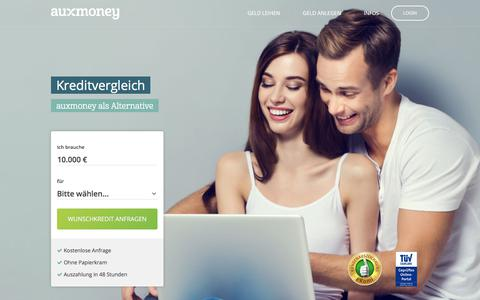 Kreditvergleich online »»» AUXMONEY.com