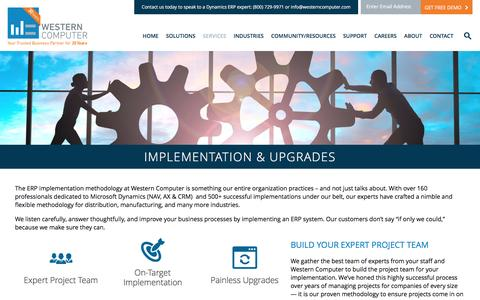 Dynamics Implementation & Upgrades | Western Computer | www.westerncomputer.com