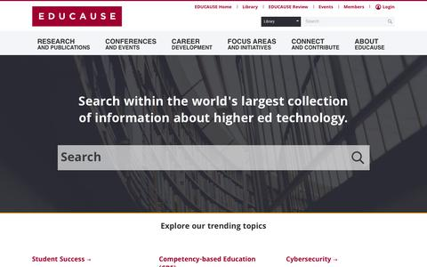 Home | EDUCAUSE