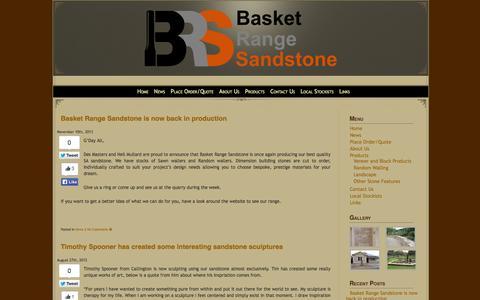 Screenshot of Press Page basketrangesandstone.com.au - Basket Range Sandstone>News » Basket Range Sandstone> - captured Sept. 30, 2014
