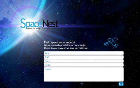 Screenshot of Home Page space-nest.com - Space-Nest - captured Jan. 30, 2015