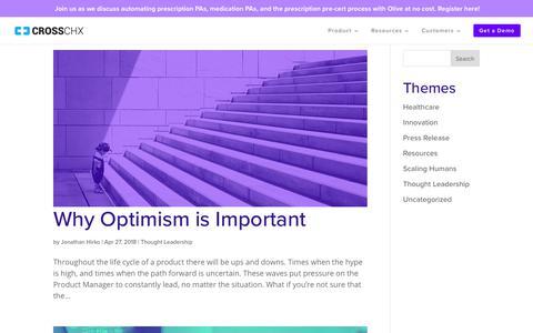 Screenshot of Blog crosschx.com - Blog   CrossChx - captured May 14, 2018