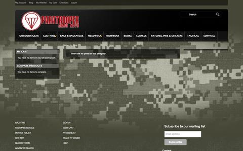 Screenshot of Blog paratrooperarmynavy.com - Blog - captured Dec. 7, 2015
