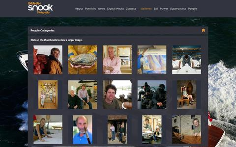 Screenshot of Team Page grahamsnook.com - People  |  Categories  |  Graham Snook Photography | Yachting, Marine, Advertising and Editorial Photography - captured Oct. 5, 2014