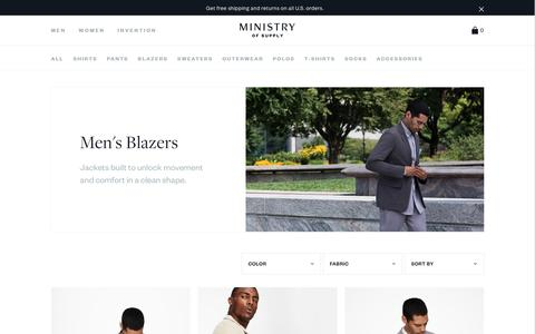 Men's Blazers & Suit Jackets | Ministry of Supply