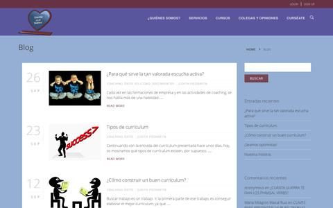 Screenshot of Blog sientequesabes.es captured Oct. 7, 2014