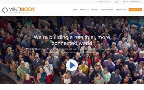 Screenshot of Jobs Page mindbodyonline.com - Careers | MINDBODY - captured Sept. 16, 2014