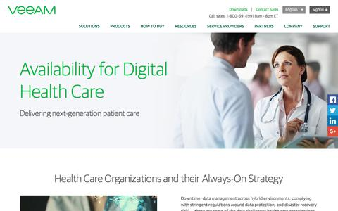 Digital Healthcare Availability Solution
