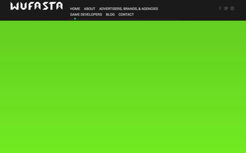 Screenshot of Home Page wufasta.co - Wufasta™ - Welcome to Wufasta™ - Beta - captured Sept. 30, 2014