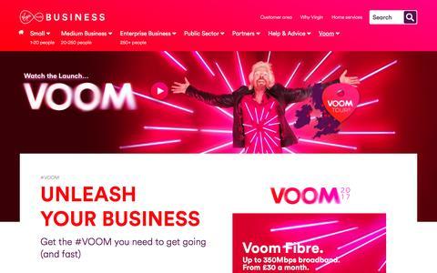 Voom | Virgin Media Business