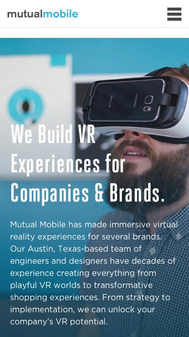 VR Development for the Real World - Mutual Mobile