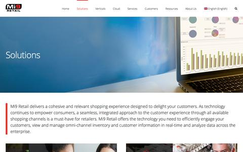 Solutions | Mi9 Retail