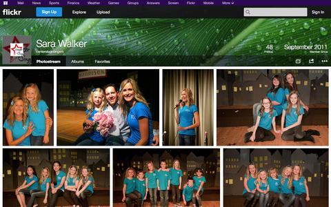 Screenshot of Flickr Page flickr.com - Flickr: centerstagesingers' Photostream - captured Oct. 22, 2014