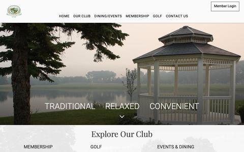 Screenshot of Home Page saskatoongcc.com - Saskatoon Golf and Country Club - Saskatoon, Sk.-Saskatoon Golf and Country Club - Home - captured Nov. 12, 2018