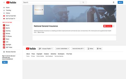 National General Insurance  - YouTube