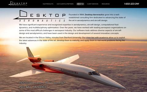 Screenshot of About Page Contact Page desktop.aero - About - captured Oct. 23, 2014