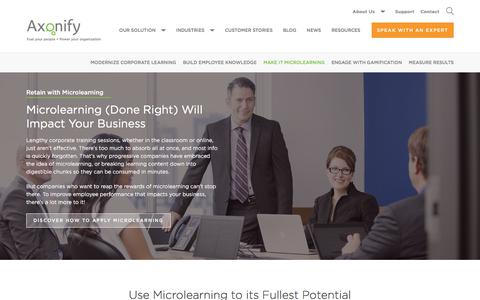 Microlearning | Axonify