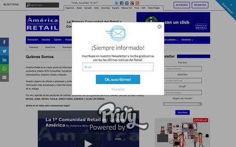 Quiénes Somos | La Primera Comunidad del Retail y Consumo Masivo en Latinoamérica