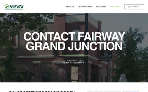 Contact Fairway Grand Junction | Fairway Independent Mortgage Corporation