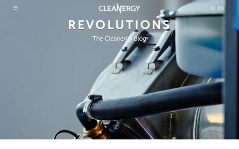 Screenshot of Blog cleanergy.com - Blog Archives - Cleanergy - captured Oct. 28, 2014