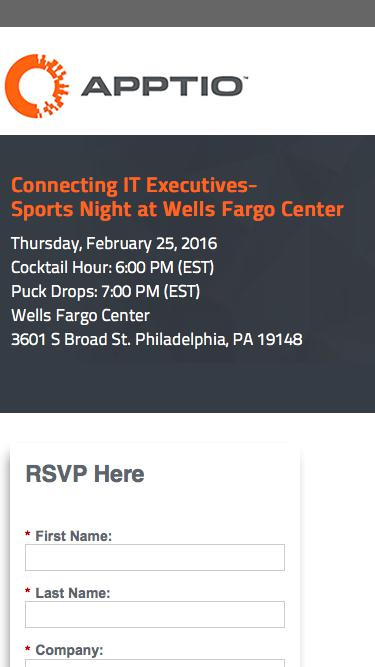 Connecting IT Executives: Sports Night at Wells Fargo Center