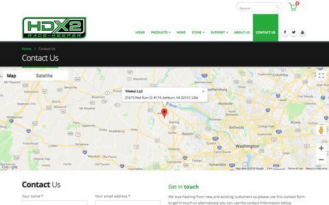 Screenshot of Contact Page race-keeper.com - Contact Us – Race-Keeper - captured Sept. 20, 2018