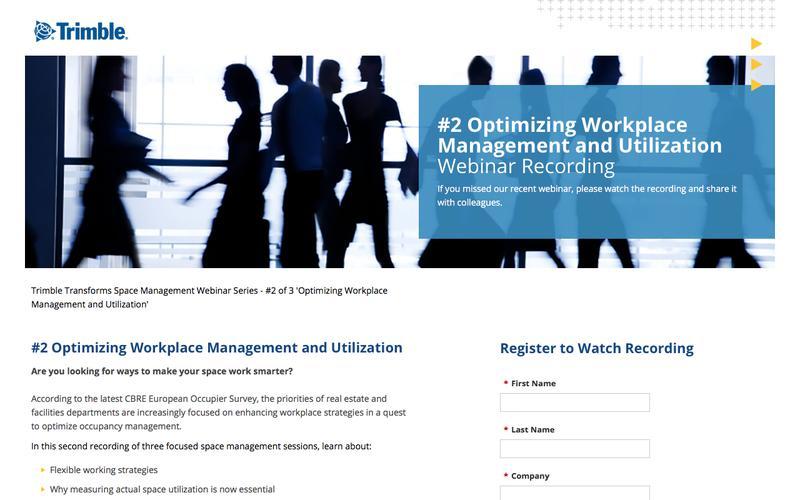 Optimising Workplace Management and Utilisation
