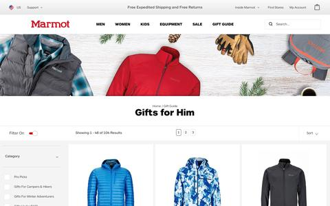 Gifts for Him | Marmot.com