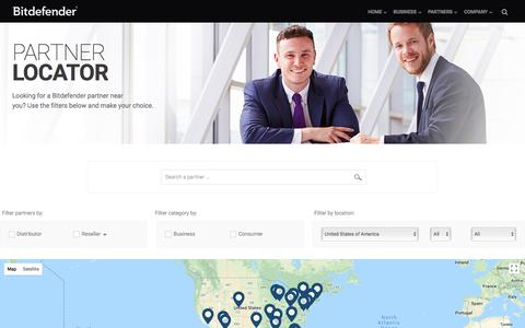 Bitdefender Partner Locator
