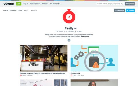 Fastly on Vimeo