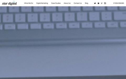 Screenshot of Blog star-digital.co.uk - Digital Blog - Digital Marketing & Web Design - captured Dec. 19, 2015