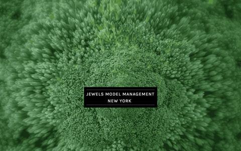 Screenshot of Home Page jewelsmodelmanagement.com - Jewels Model Management  - Official Website - captured Jan. 9, 2016