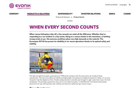 Eurocopter - Evonik Industries AG