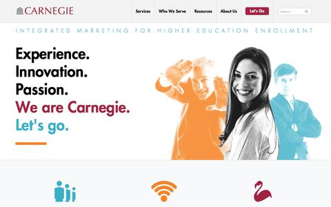 Carnegie Communications: Higher Education Marketing Services