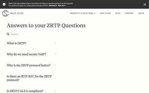ZRTP - Silent Circle