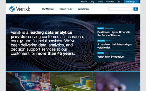 Verisk Analytics | Better Decisions About Risk