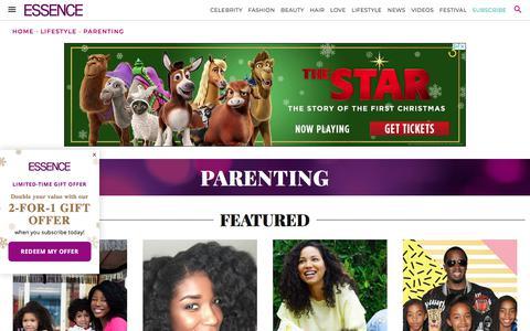 Parenting | Essence.com