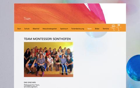 Screenshot of Team Page montessori-sonthofen.de - Team - Montessori Sonthofen- Montessori Sonthofen - captured June 9, 2016