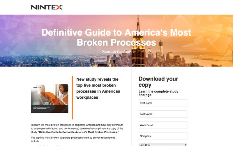 Definitive Guide to America's Most Broken Processes