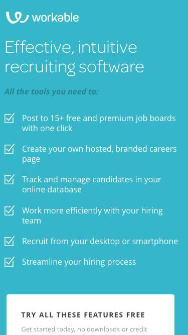 Workable: Simple Recruitment Software