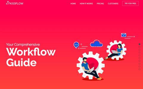 Your Comprehensive Workflow Guide   KiSSFLOW