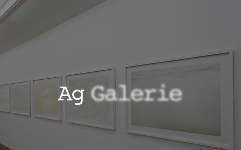 Screenshot of Home Page ag-galerie.com - Ag Galerie - captured Aug. 29, 2015