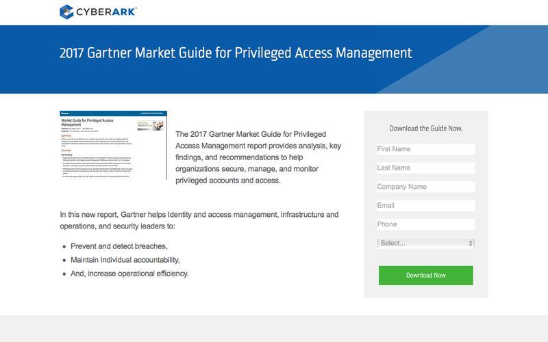 2017 Gartner Market Guide