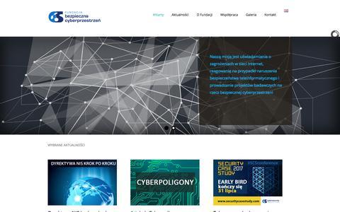 Fundacja Bezpieczna Cyberprzestrzeń, Cybersecurity Foundation