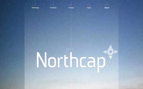 Screenshot of About Page northcap.vc - About - captured Oct. 26, 2014