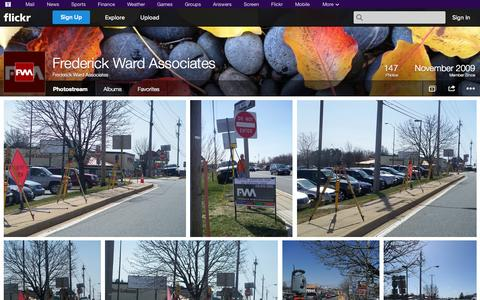 Screenshot of Flickr Page flickr.com - Flickr: Frederick Ward Associates' Photostream - captured Oct. 25, 2014