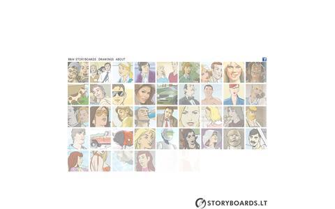 Screenshot of Home Page storyboards.lt - storyboards.lt - captured Oct. 7, 2014