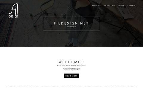 Screenshot of Home Page fildesign.net - Fıldesıgn.net - captured June 5, 2017