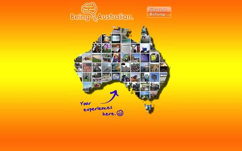 Screenshot of Home Page beingaustralian.com.au - Being Australian ~ Experiences People Have That Feel Australian - captured Oct. 5, 2014
